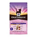 Hill's Cat Food Ideal Balance Mature Adult Chicken & Brown Rice