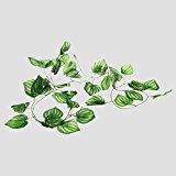 Reptile Artificial Fruit Plants Vines Landscaping Ornament Plastic Leaves Habitat Non-Toxic Decoration