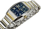 Xezo for Unite4:good Incognito Gold Pl. Tonneau Automatic Watch. Swiss Sapphire, Citizen Movt, Serial