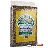 2KG Nature's Own Devon Meadow Hay Pet Food Animal Feed & Tigerbox Antibacterial Pen