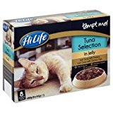 HiLife Tempt Me Tuna Collection Jelly Pouch Adult Cat Food 32 x 85g