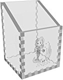 'Mermaid Under The Sea' Clear Desk Tidy / Pencil Holder (DT00031411)