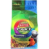 Kaytee Exact Rainbow - Complete food for Parrots and Conures - 20lb
