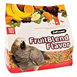 Zupreem Fruitblend With Natural Fruit Flavors Medium/Large Bird Food, 12 Lbs Multi Colored