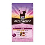 Hill's Cat Food Ideal Balance Adult with Fresh Chicken & Brown Rice