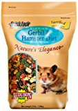 Audubon Park Nature's Elegance 1555 Gerbil and Hamster Diet Supreme Quality Pet Food, 3-Pound Bag