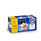 Felix Mixed Selection in Jelly Cat Food 100g x 44 pack