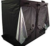 Hydroponics Grow Tent Kits (200x200x200cm Complete Grow Room 600w Light, Fan and Filter Kit with Ducting)