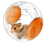 Emours Run-About Mini 4.8 inch Small Animal Hamster Run Exercise Ball (orange)