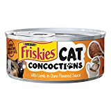Purina Friskies Cat Concoctions with Lamb in Clam Flavored Sauce Cat Food, 5.5 Ounce Can by Purina Friskies