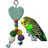 Parrot Teeth Grinding Chew Toy for Bird Macaw African Greys Budgies Parakeet Cockatiel Conure Lovebirds Cage Chew Toy