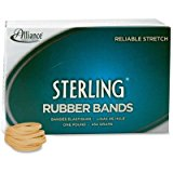 Allianceamp;reg; - Sterling Ergonomically Correct Rubber Bands, #30, 2 x 1/8, 1500 Bands/1lb Box - Sold As 1 Box - Excellent, easy stretch to help avoid Carpal Tunnel Syndrome. by Mojetto