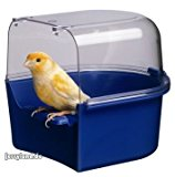 Ferplast Trevi Bird Bath Covered Canary 14x15x13cm