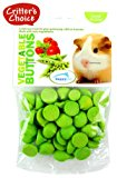 Critters Choice Small Animal Vegetable Buttons 40g Pets Small Animals Edible 5023556345000