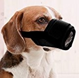 Doggie Style Store Black Soft Mesh Pet Dog Muzzle - 3 Sizes