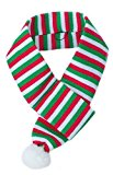 ZippyPaws Christmas Striped Dog Scarf, 74 cm, Large, Striped