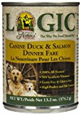 NATURE'S LOGIC Canned Food - Duck & Salmon - 12 x 13.2 oz