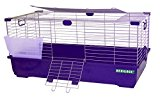 HERITAGE RABBIT CAGE 80 CM CAVIE INDOOR LARGE BUNNY HUTCH GUINEA PIG CAGES WITH FREE HAY RACK