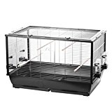 Bird Cage for Budgies/Canaries with Free Flight To The Top