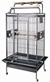 New Large Play Top Bird Cage Parttot Finch Macaw Cockatoo Bird Wrought Iron Cage by Mcage