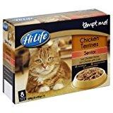 HiLife Tempt Me Chicken Terrines Senior Cat Food 32 x 85g