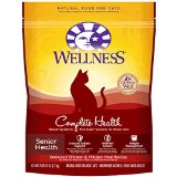 Wellness Complete Health Natural Dry Cat Food, Senior Health, Deboned Chicken And Chicken Meal Recipe, 2.9-Pound Bag